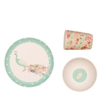 LOVE MAE PEACOCK DINNER SET