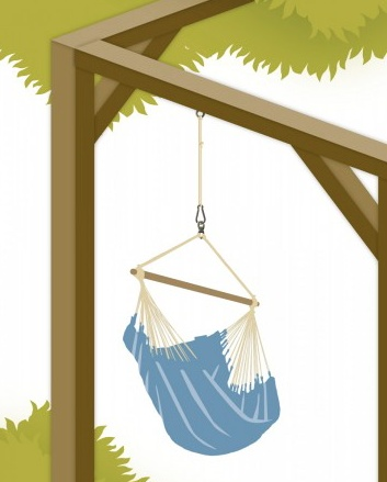 LA SIESTA LA SIESTA SEGURO-SUSPENSION SET FOR HAMMOCK CHAIRS & HANGING NESTS