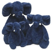 JELLYCAT INC BASHFUL MEDIUM BLUE ELEPHANT