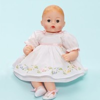 ALEXANDER DOLL COMPANY INC. PRETTY PINAFORE HUGGUMS BABY DOLL