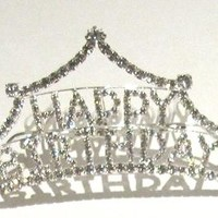 COUTURE CLIPS COUTURE CLIPS HAPPY BIRTHDAY TIARA