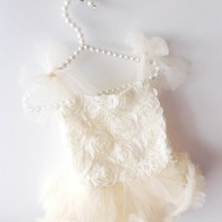 OLIVIA ROSE ROSE BLOSSOM TUTU ONESIE DRESS