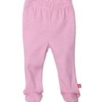 ZUTANO ZUTANO CANDY STRIPE FOOTED PANT