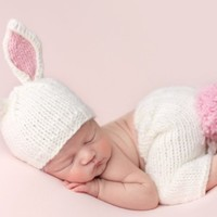 THE BLUEBERRY HILL BAILEY BUNNY NEWBORN SET