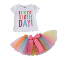 MUD PIE BIRTHDAY TUTU SET