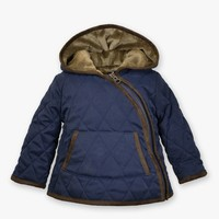 WIDGEON HOODED ASYMMETRICAL JACKET