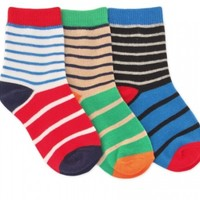 JEFFERIES SOCKS STRIPED CREW