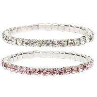 CREATIVE EDUCATION OF CANADA DIAMANTE BRACELET SET