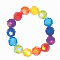 CREATIVE EDUCATION OF CANADA CHUNKY BOBBLE MULTICOLOUR BRACELET