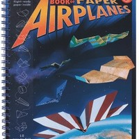 KLUTZ PAPER AIRPLANES BOOK