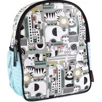 PETIT COLLAGE ANIMALS ECO-FRIENDLY TODDLER BACKPACK