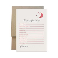 PAGE STATIONERY WISHES FOR BABY GIRL