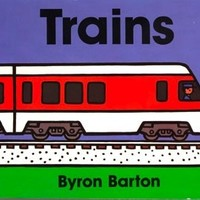 HARPER COLLINS PUBLISHERS TRAINS BOARD BOOK