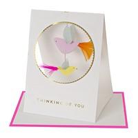 MERI MERI THINKING OF YOU BIRDS CARD