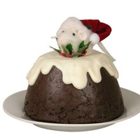 BYERS MOUSE IN PLUM PUDDING