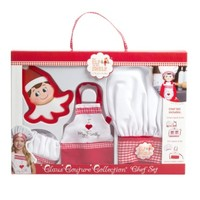 ELF ON THE SHELF THE ELF ON THE SHELF- CLAUS COUTURE COLLECTION CHEF APRON SET