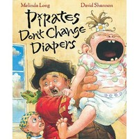 HOUGHTON MIFFLIN HARCOURT PIRATES DON'T CHANGE DIAPERS