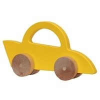 MANNY & SIMON RACE CAR PUSH TOY
