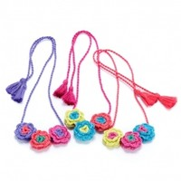 PEPPERCORN KIDS FLOWER CROCHET NECKLACE