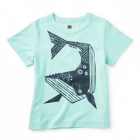 TEA WHALE THEN GRAPHIC TEE
