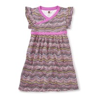 TEA FIRE COUNTRY DREAMING WRAP NECK DRESS
