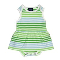 TOOBY DOO TOOBY DOO GREEN MEADOWS BABY BODYSUIT DRESS