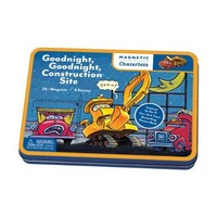 GALISON MUDPUPPY GOODNIGHT GOODNIGHT CONSTRUCTION SITE MAGNETIC CHARACTERS