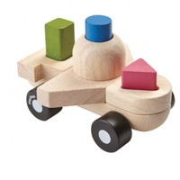 PLAN TOYS, INC. SORTING PUZZLE PLANE