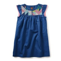 TEA GOOLWA FLUTTER DRESS