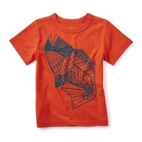 TEA FRESH FISH GRAPHIC TEE