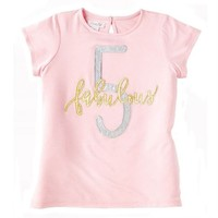 MUD PIE FABULOUS FIVE SHIRT