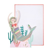 MERI MERI MERMAID GREETING CARD