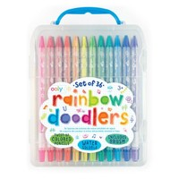 INTERNATIONAL ARRIVALS RAINBOW DOODLERS TWIST-UP COLORED PENCILS