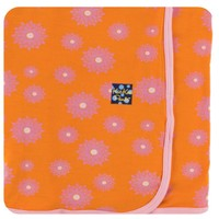 KICKEE PANTS KICKEE PANTS SWADDLE BLANKET SUNSET WATER LILY