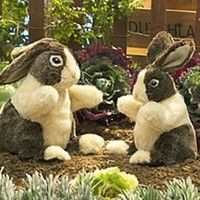 FOLKMANIS DUTCH RABBIT PUPPET