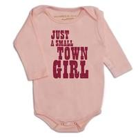 PUNKSTER JUST A SMALL TOWN GIRL ONESIE