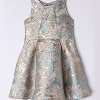 ISOBELLA AND CHLOE SEAFOAM PARTY DRESS