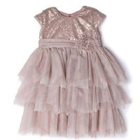 ISOBELLA AND CHLOE SOPHIE RUFFLE DRESS