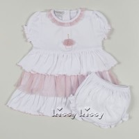 KISSY KISSY DRESS WITH DIAPER COVER