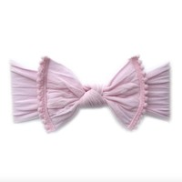 BABY BLING BABY BLING TRIMMED CLASSIC KNOT HEADBAND