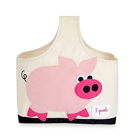 3 SPROUTS 3 SPROUTS PINK PIG CADDY