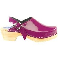 CAPE CLOGS CAPE CLOGS PURPLE PATENT LEATHER