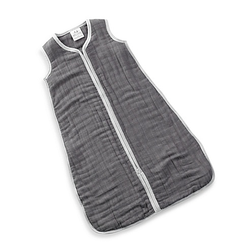 ADEN + ANAIS ADEN & ANAIS DREAM IN GREY COZY SLEEPING BAG