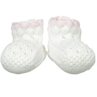 JEFFERIES SOCKS POINTELLE BUBBLE BOOTIE