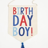 MUD PIE BIRTHDAY BOY BANNER