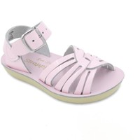 SALT WATER SANDALS PINK STRAPPY SANDALS