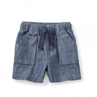 TEA CHAMBRAY SHORT'N'SWEET SHORT