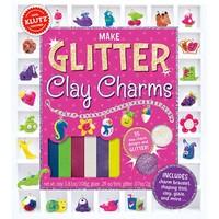KLUTZ MAKE GLITTER CLAY CHARMS