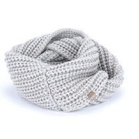 PEPPERCORN KIDS PEPPERCORN KIDS CHUNKY RIB INFINITY SCARF