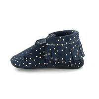 FRESHLY PICKED FRESHLY PICKED NAVY CONFETTI MOCCASIN